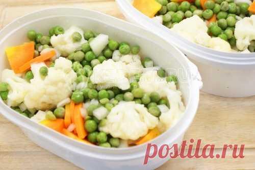 Овощная смесь на зиму – Пошаговый рецепт с фото. Заготовки. Вкусные рецепты с фото