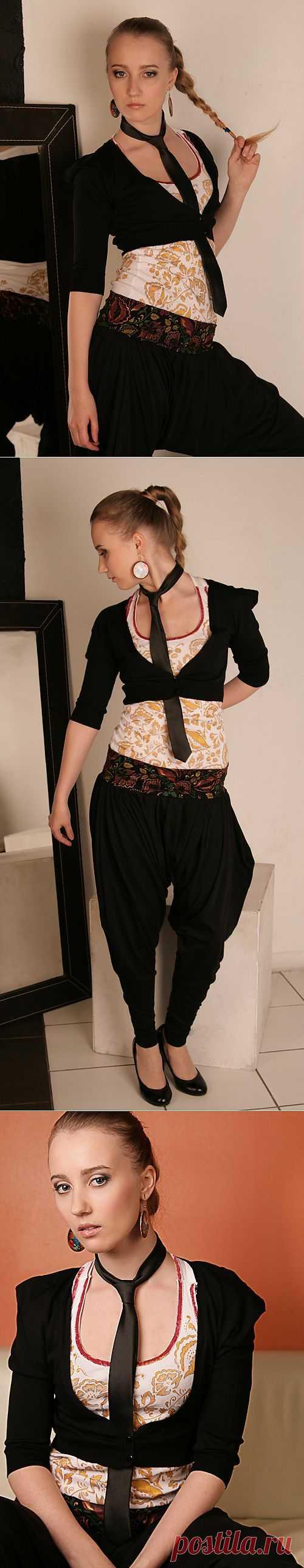 """Образ """"Ля-Русс"""" / Ваш стиль / Модный сайт о стильной переделке одежды и интерьера"""