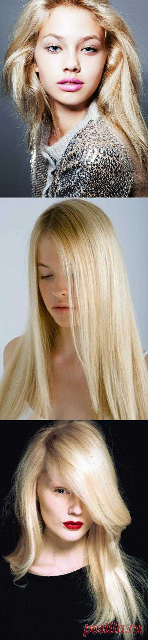 Как осветлить волосы без краски