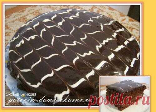 Шоколадный торт. | Готовим Дома Вкусно