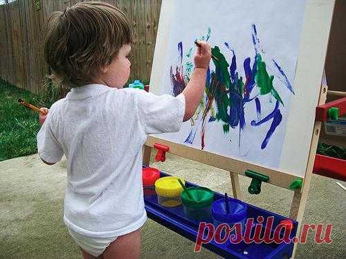 Растим художника. Или в каком возрасте следует учить ребенка рисовать?
