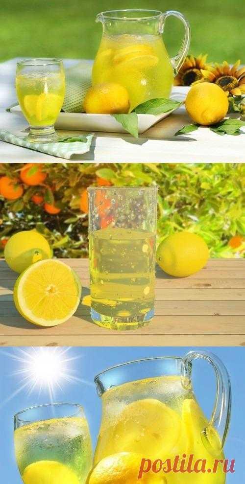 Готовим домашний лимонад