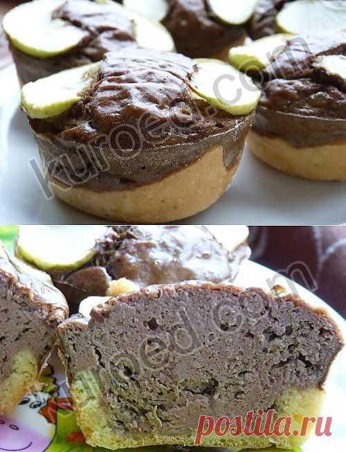 Пирожки с печеночным паштетом.