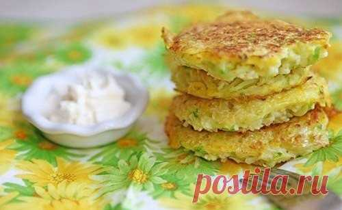 Fritters from cabbage