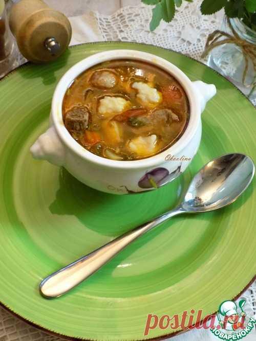 Венгерский гуляш-левеш - кулинарный рецепт