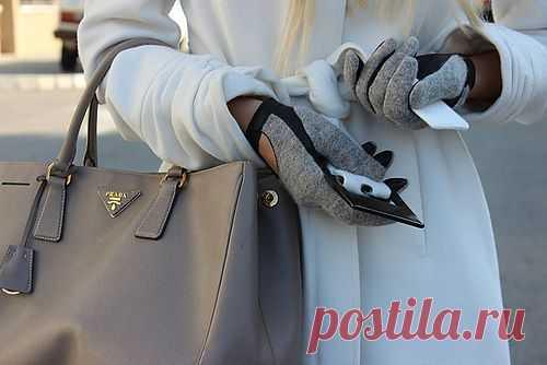 Интересные трикотажные перчатки / Перчатки и варежки / Модный сайт о стильной переделке одежды и интерьера