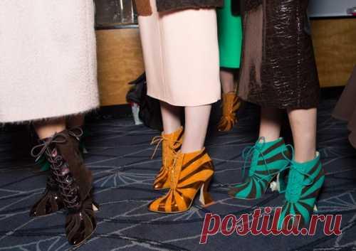Совместное творчество 3 брендов стильной обуви.
