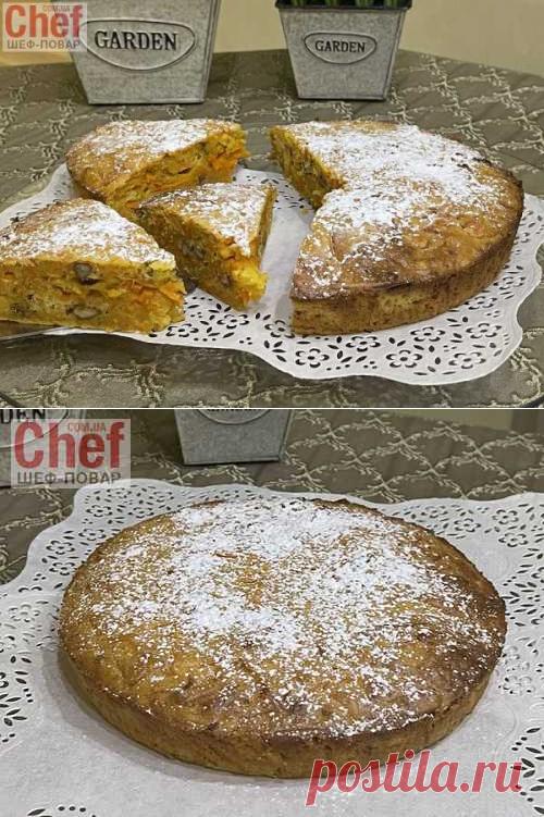 Морковный пирог | Вкусные кулинарные рецепты