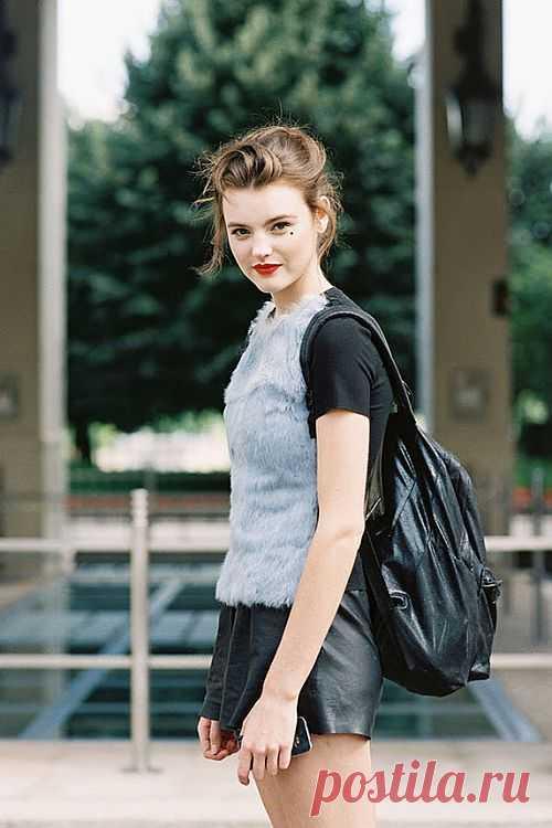 Меховая футболка / Креатив / Модный сайт о стильной переделке одежды и интерьера