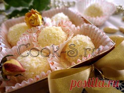 Домашние Рафаэлло - Пошаговый рецепт с фото | Десерты
