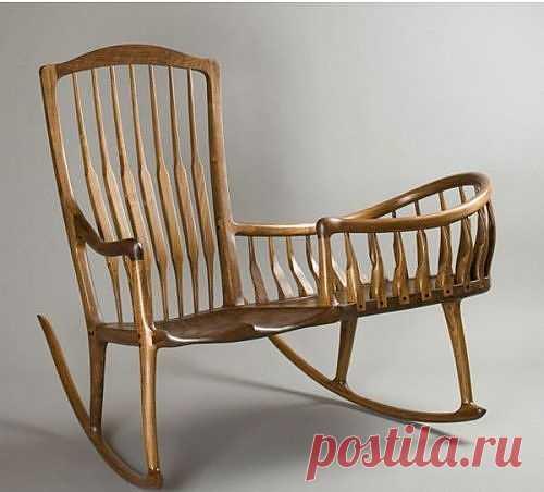 Кресло-качалка в детскую / Мебель / Модный сайт о стильной переделке одежды и интерьера
