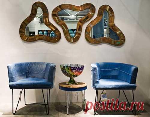 """""""Джинсовые"""" кресла / Переделка джинсов / Модный сайт о стильной переделке одежды и интерьера"""