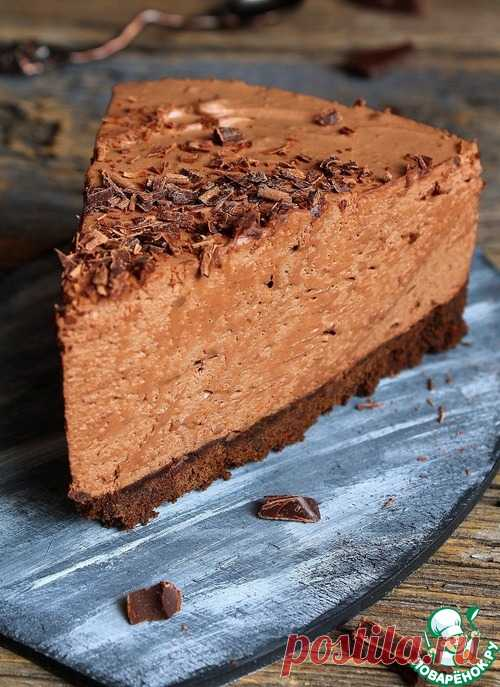 Chocolate cake mousse without pastries
