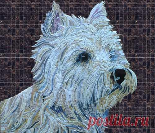 Dog Mosaic (Page 6) - Line.17QQ.com
