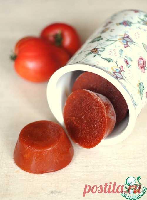 Быстрое томатное пюре на заморозку – кулинарный рецепт