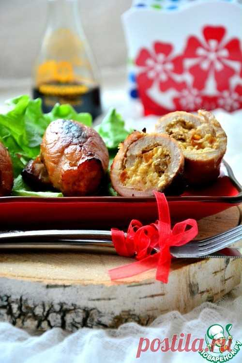 Крученики из свинины с начинкой – кулинарный рецепт