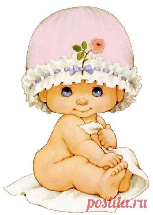 Картинки младенцев прикольные нарисованные, днем рождения женщине