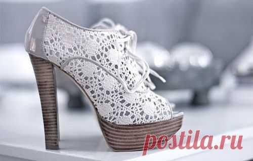 Еще немного кружева / Обувь / Модный сайт о стильной переделке одежды и интерьера