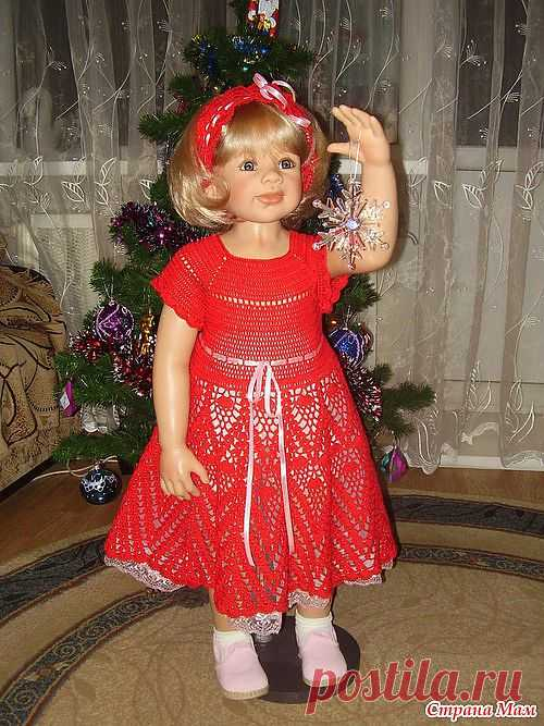 """Платье и повязка """"Красотка"""":"""