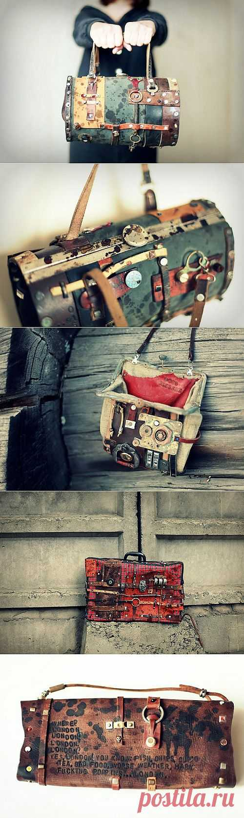 Сумки от Homeless bros (трафик) / Сумки, клатчи, чемоданы / Модный сайт о стильной переделке одежды и интерьера