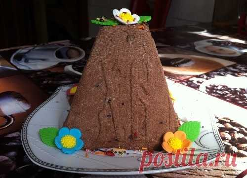 Шоколадная творожная пасха – 3 рецепта из творога (с фото пошагово)