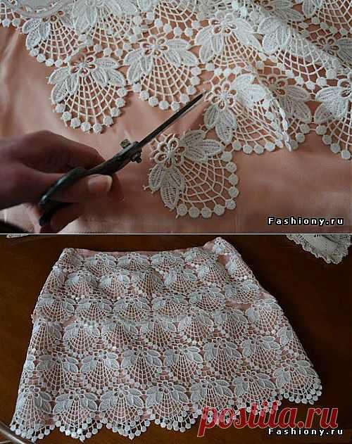 Как быстро переделать юбку | Умелые ручки