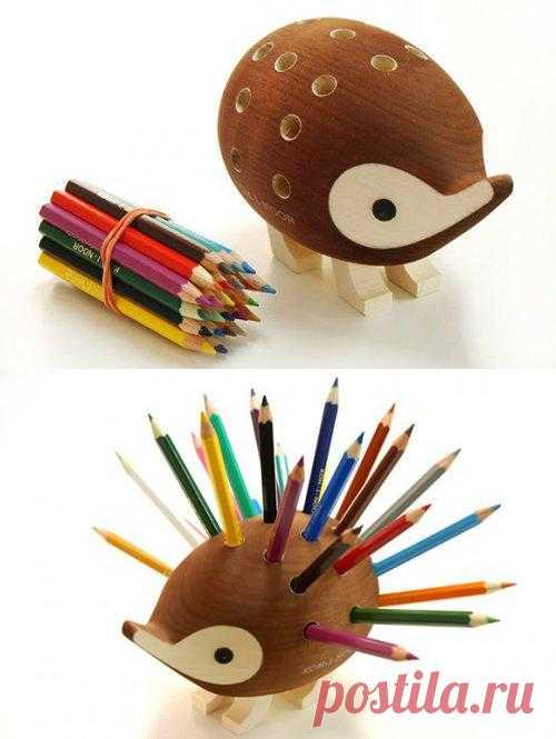 Ёжик для карандашей