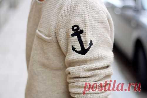 Вышивка на свитере / Мужская мода / Модный сайт о стильной переделке одежды и интерьера