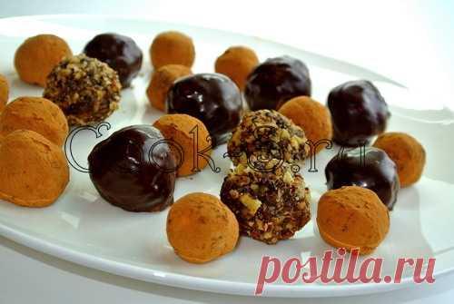 Конфеты «Трюфель» - Пошаговый рецепт с фото | Десерты