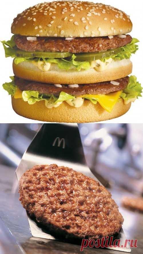 """Осторожно - антипостные блюда! ;) Интересная информация: официальный ответ """"Макдоналдс"""" о качестве их продукции (для получения информации нажмите 2 раза на картинку)"""