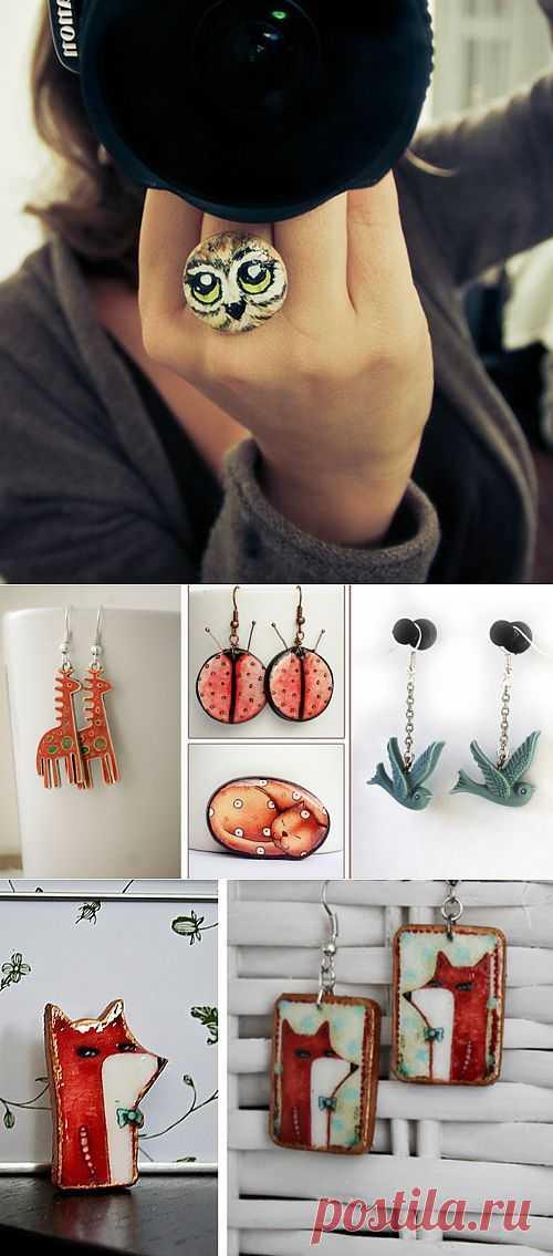 Звероконкурс: Яркин зоопарк / Украшения и бижутерия / Модный сайт о стильной переделке одежды и интерьера