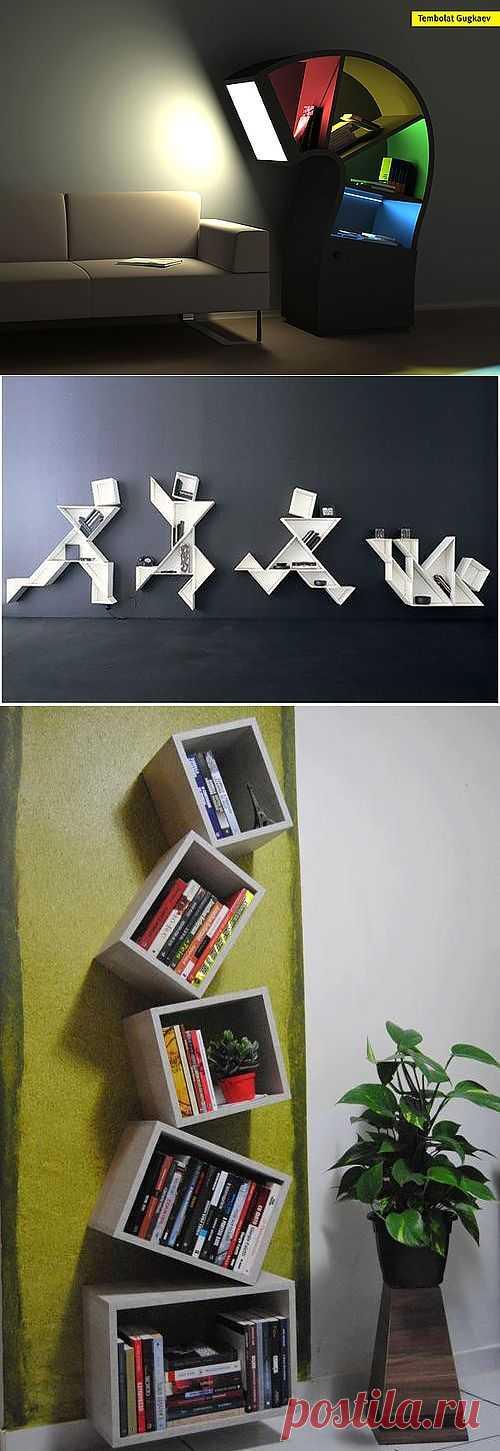 Еще одна подборка креативных полок (Читай-город) / Мебель / Модный сайт о стильной переделке одежды и интерьера