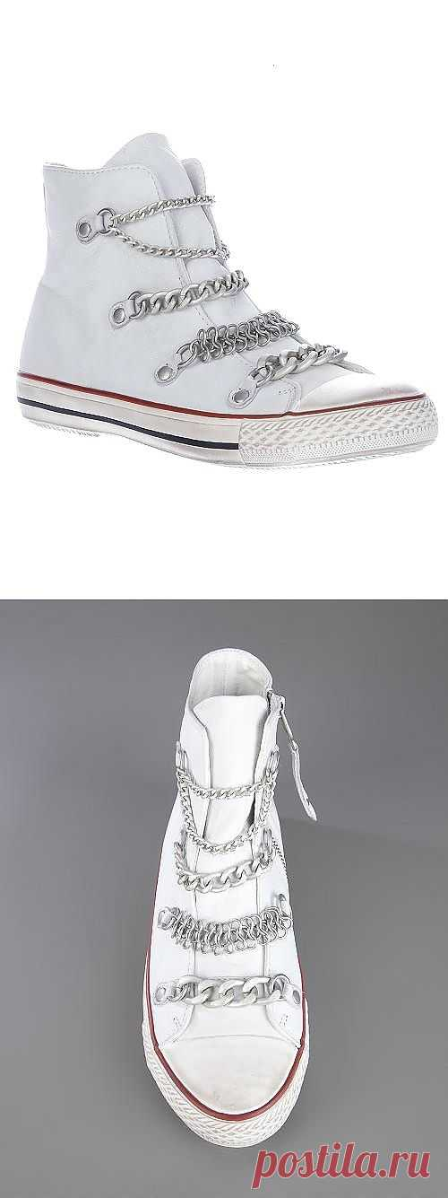 Оцепиненные кеды / Обувь / Модный сайт о стильной переделке одежды и интерьера