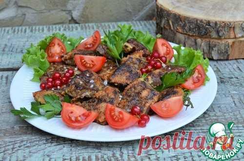 Печень в яично-сливочной панировке – кулинарный рецепт