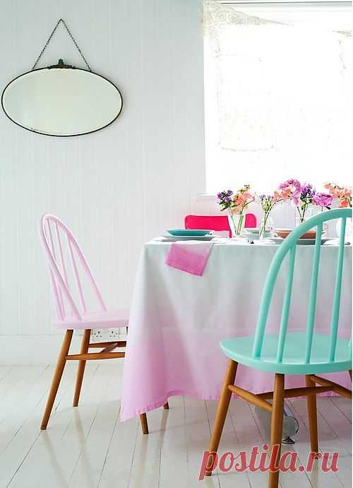Перекрасить стулья! / Мебель / Модный сайт о стильной переделке одежды и интерьера