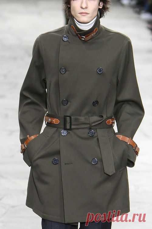 Слегка разбавить монохром / Пальто и плащ / Модный сайт о стильной переделке одежды и интерьера