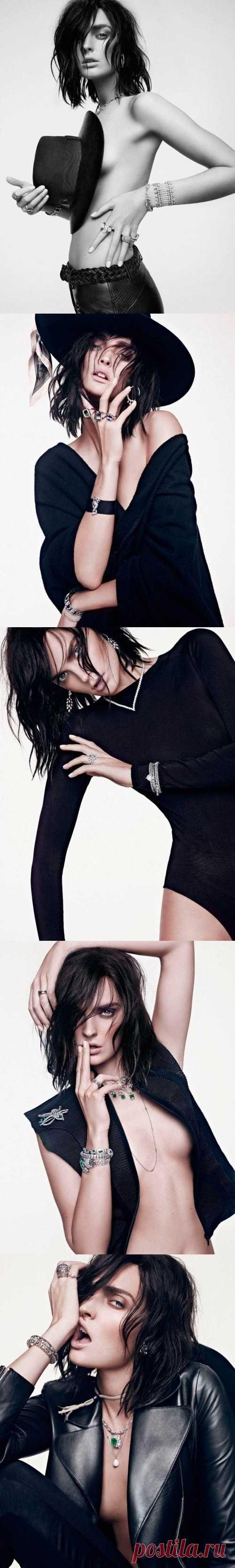 Андрогенная красота от Vogue Spain