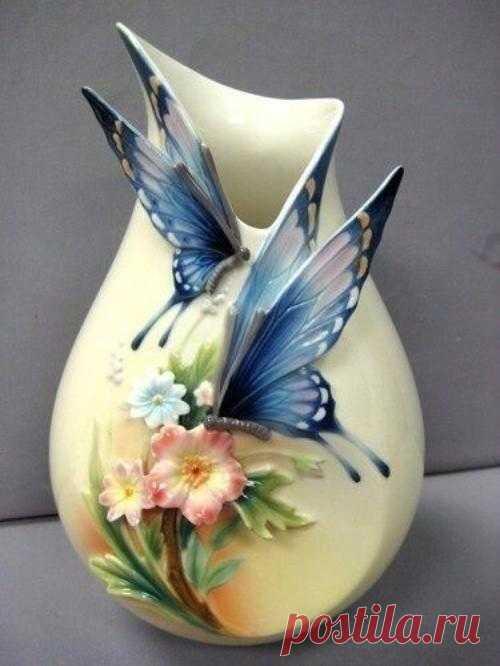 Оригинальные вазочки