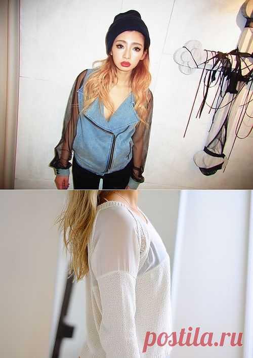 Прозрачные рукава из шифона / Курточные переделки / Модный сайт о стильной переделке одежды и интерьера