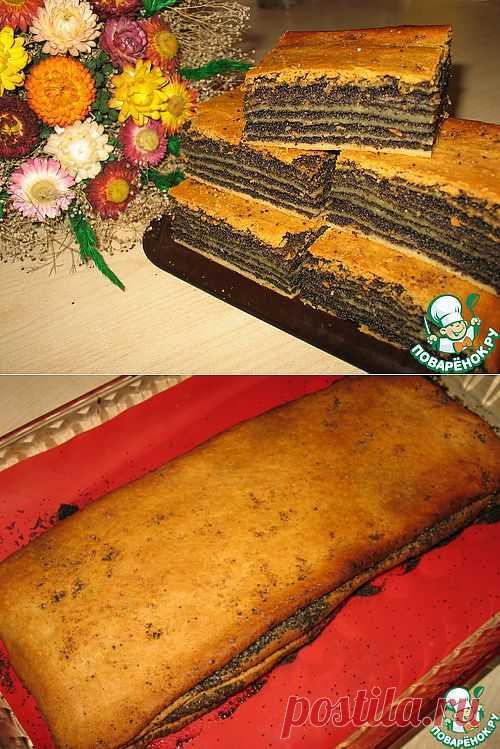 Катлама с маком. Национальное блюдо татарской кухни.