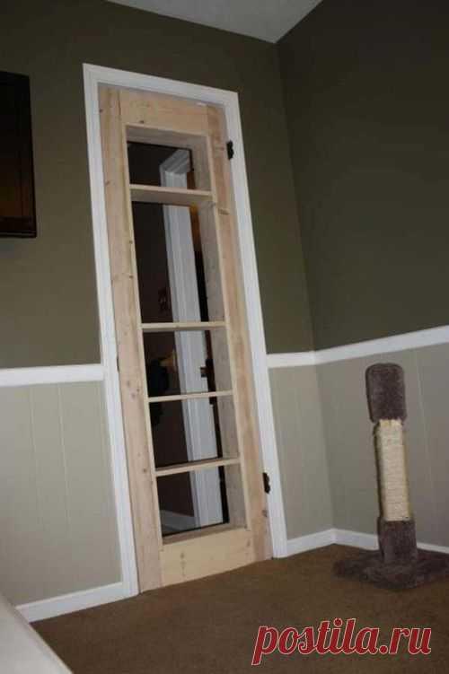Как сделать дверь в скрытую комнату своими руками