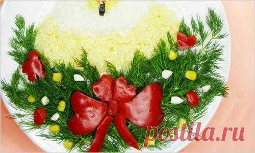 Украшение блюд на Новый год. Часть 1 | Идеи с фото на KEDEM.RU