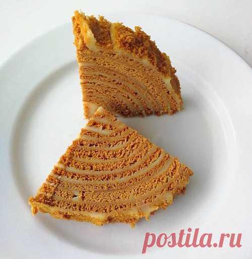 Медовик Карамельный - пошаговые рецепты с фото на povarenok.by