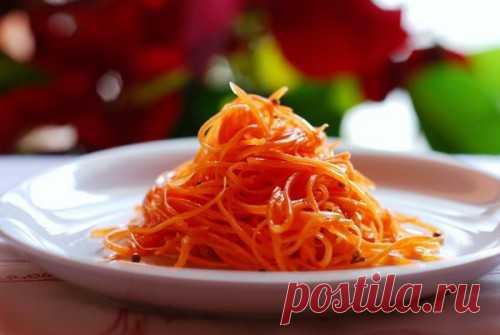 Морковь по-корейски – делаем салат с «тем самым» вкусом / Простые рецепты