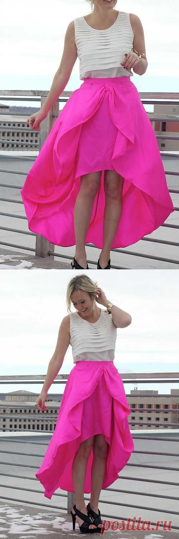 Розовое облако / Юбки и их переделки / Модный сайт о стильной переделке одежды и интерьера