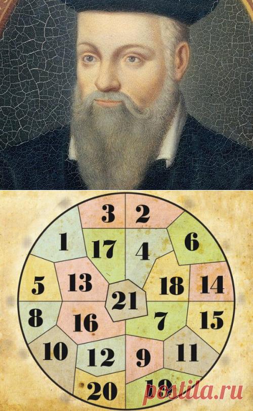 La adivinación en redondo Nostradamusa