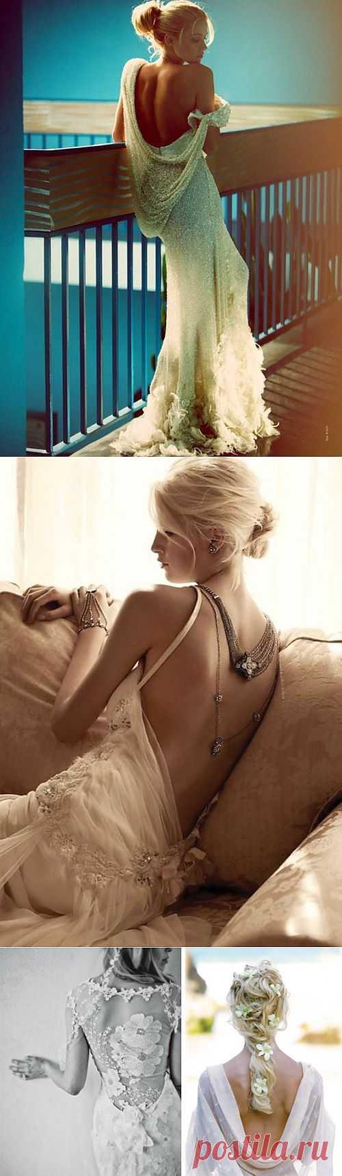 Плечико упало (подборка) / Декор спины / Модный сайт о стильной переделке одежды и интерьера
