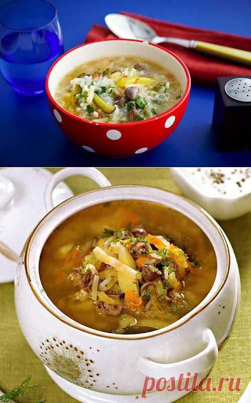 5 рецептов супов с куриными потрошками / Простые рецепты