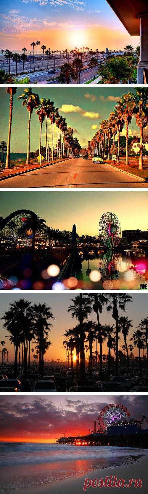 Для поднятия настроения. Прекрасная красочная Калифорния