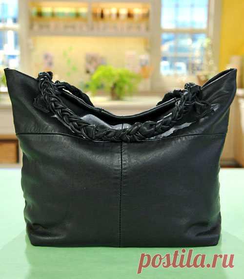 c3ea161e4eb4 Как сшить сумку из кожи своими руками: подробный мастер-класс с выкройками